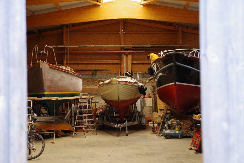 Jane in der Werft